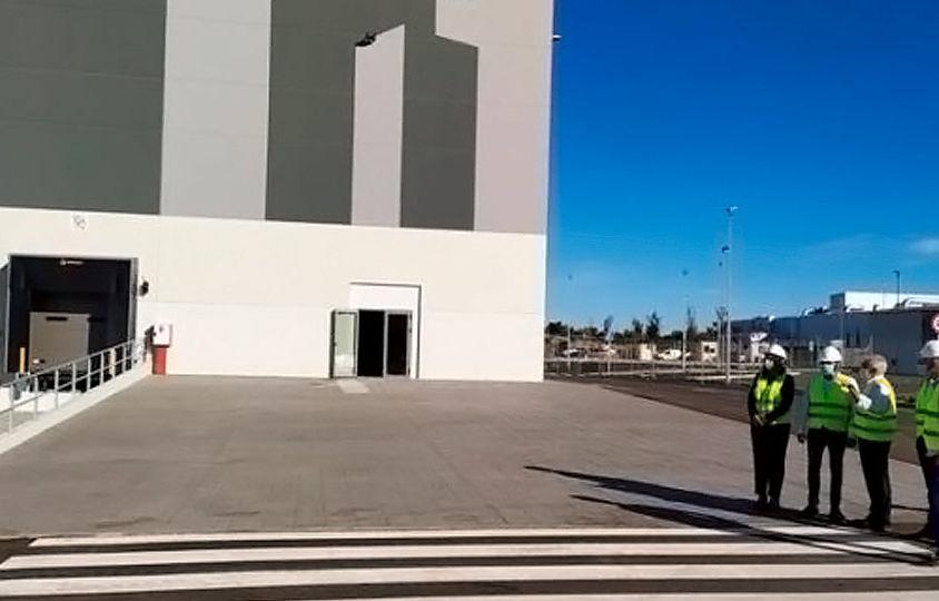 La nave logística de Carrefour en Guadalajara generará más de 300 empleos